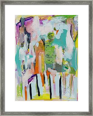 Pacific Island Abstract Framed Print