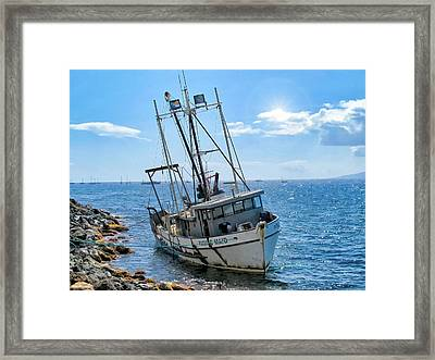 Pacific Maid 2 Framed Print