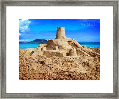 Pacific Moat Framed Print