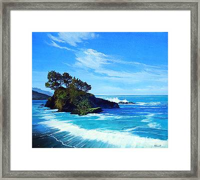 Pacific Northwest Coast Framed Print by Robert Duvall