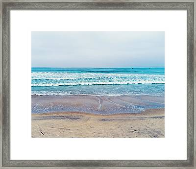 Pacific Ocean At Torrey Pines Framed Print by Tanya Harrison