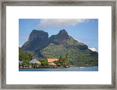 Pacific Ocean, French Polynesia Framed Print by Aliscia Young