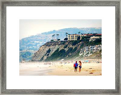 Pacific Paradise Framed Print by Diana Angstadt