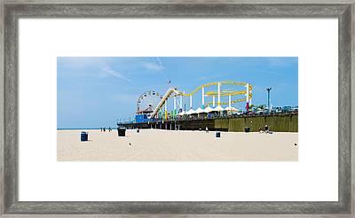 Pacific Park, Santa Monica Pier, Santa Framed Print