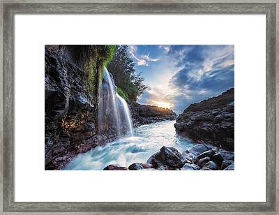 Pacific Pathway Framed Print by Hawaii  Fine Art Photography