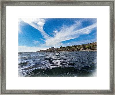 Pacific Perspective Framed Print