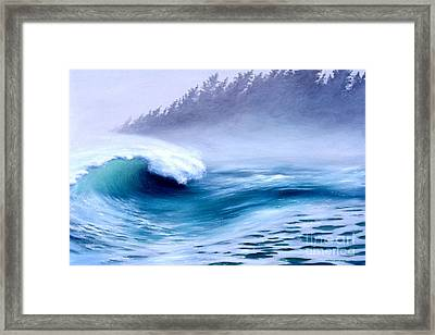 Pacific Power  Framed Print by Michael Swanson