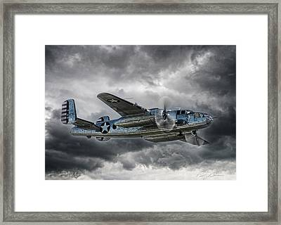 Pacific Prowler Framed Print by Peter Chilelli