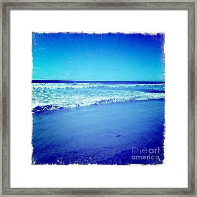 Pacific Rays Framed Print