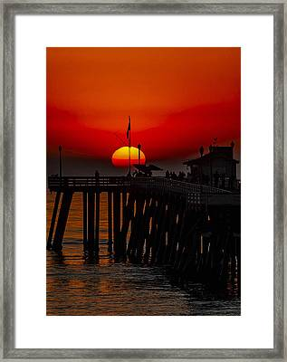 Pacific Sunset Number 1 Framed Print