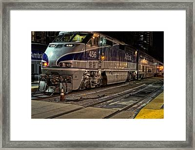 Pacific Surfliner 4-5-6 Framed Print by See My  Photos