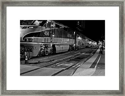 Pacific Surfliner Framed Print by See My  Photos