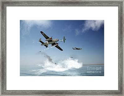 Pacific War Framed Print by J Biggadike