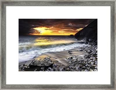Pacifica Coast Framed Print
