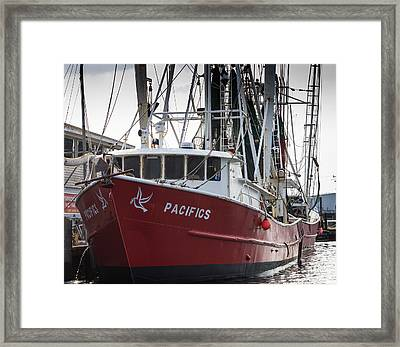 Framed Print featuring the photograph Pacifics by Gregg Southard