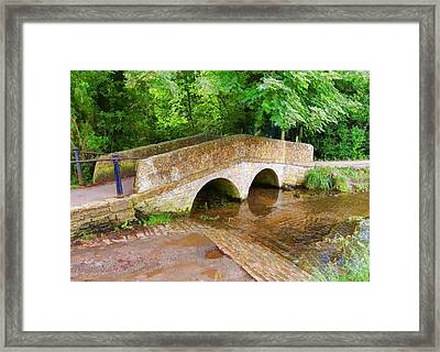 Pack Horse Bridge Framed Print