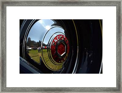 Framed Print featuring the photograph Packard - 2 by Dean Ferreira