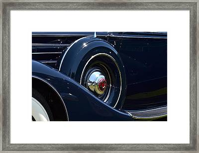 Framed Print featuring the photograph Packard - 1 by Dean Ferreira