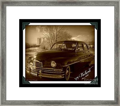 Packard Classic At Truckee River Framed Print