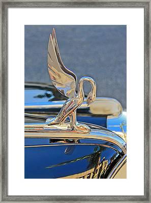 Packard Hood Ornament Framed Print by Ben and Raisa Gertsberg