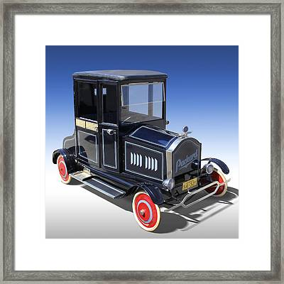 Packard Peddle Car Framed Print by Mike McGlothlen