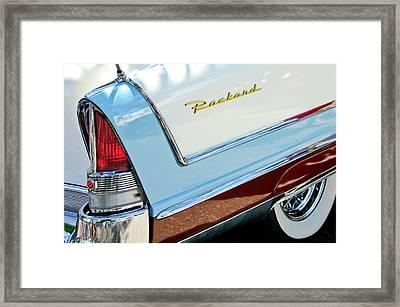Packard Taillight Framed Print