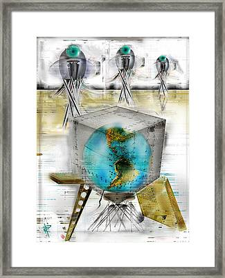 Packed And Ready For Transport Framed Print