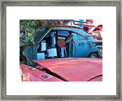 Packed Framed Print by Chuck  Hicks