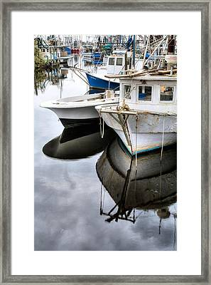 Packed In Bayou La Batre Framed Print by JC Findley