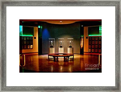 Packer Hall Of Fame Framed Print by Tommy Anderson