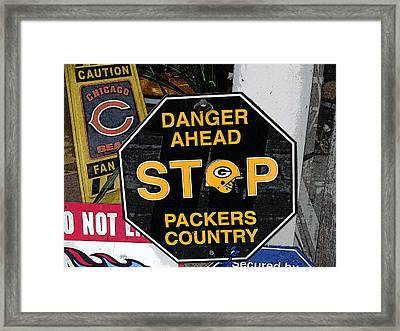 Packers Country Framed Print