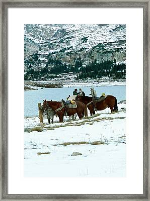 Packing Up Framed Print by Eric Glaser