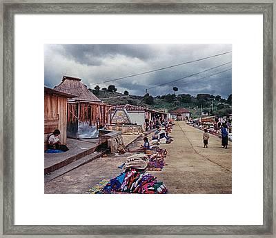 Street Wares Framed Print