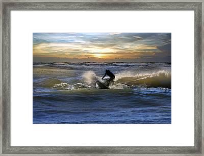 Natutical Jesus Framed Print