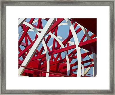 Paddlewheel Framed Print