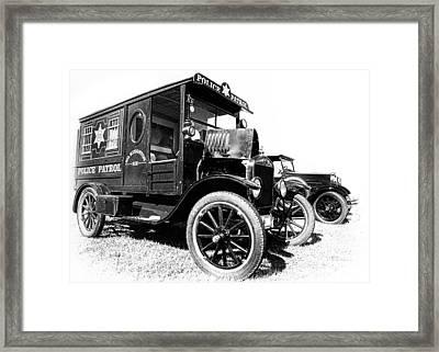 Paddy Wagon Framed Print