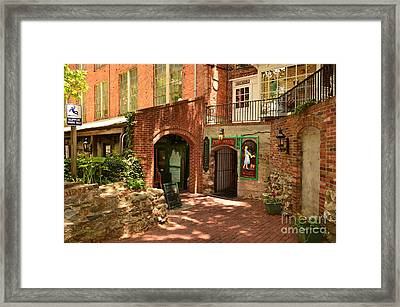 Paddys Hollow Restaurant And Pub Framed Print