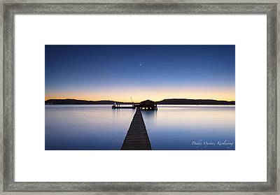 Paddys Oysters Framed Print by Steve Caldwell