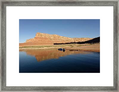 Padre Bay Lake Powell Framed Print by Julie Niemela
