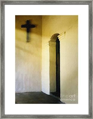 Padre's Door Framed Print
