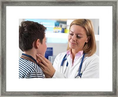 Paediatrics Framed Print by Tek Image