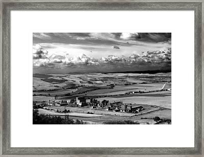 Landscape Tarquinian Former Oil Mill Framed Print