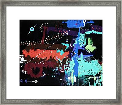 Page Eight Framed Print