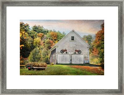 Page Farm Framed Print