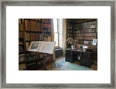 Library Images Framed Print by Dave Byrne
