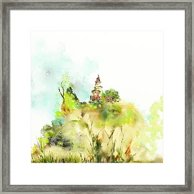 Pagoda Framed Print by Len YewHeng