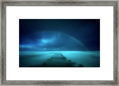 Path To The Unknown Framed Print