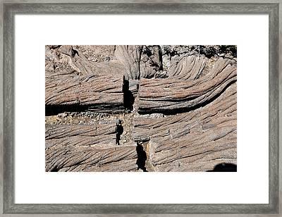 Pahoehoe Lava Framed Print