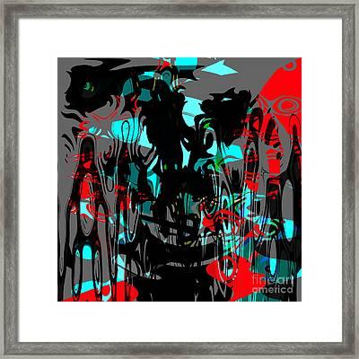 Pain Framed Print