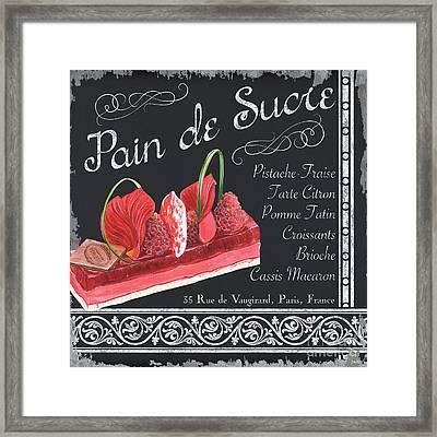 Pain De Sucre Framed Print